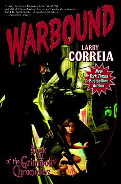 #CoverReveal Warbound: Book Three of the Grimnoir Chronicles (Grimnoir Chronicles #3) by Larry Correia. New York Times and Wall Street Journal best-selling author. Gritty urban fantasy set in an alternate noir 1930s. A tough P.I. battles an interdimensional monster that wants to suck magic power out of the world. Sequel to Hard Magic and Spellbound. Book Three in the Grimnoir Chronicles...more Hardcover, 448 pages Expected publication: August 6th 2013 by Baen
