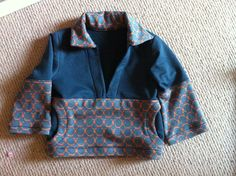 Oliver + S Nature walk pullover sewing pattern