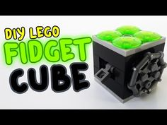 How To Make A Fidget Cube wtih Lego Compatible (DIY)