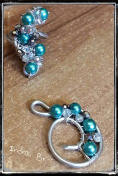 Drahtschmuck, Modeschmuck, Wire wrapping,