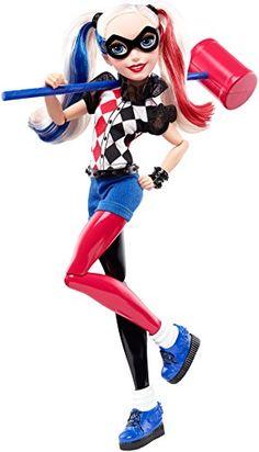 DC Super Hero Girls Harley Quinn Figure Mattel http://www.amazon.com/dp/B01AWGZXNA/ref=cm_sw_r_pi_dp_kSU7wb0T2DVSW
