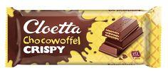 Cloetta Crispy Chocowoffel 80g