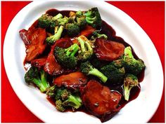 Roast Pork with Broccoli