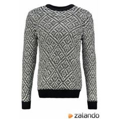 Burton Menswear London MONOCHROME Jumper black #sweater #men #covetme