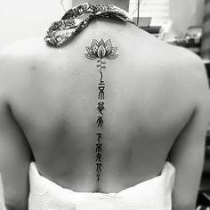 nice Top 100 spine tattoos - http://4develop.com.ua/top-100-spine-tattoos/