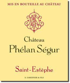 Saint Estephe Chateau Phélan Ségur
