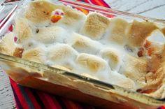 Sweet Potato (Yam) Casserole With Marshmallows