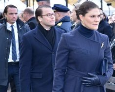Newmyroyals: April 7, 2018-Crown Princess Victoria and Prince Daniel attended the Drottninggatan memorial concert to mark the first anniversary of the Swedish terror attack