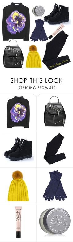 """""""Winter #42"""" by leila-image-style ❤ liked on Polyvore featuring Christopher Kane, Marc Jacobs, Wolford, DANIELAPI, Qi Cashmere, NARS Cosmetics, TokyoMilk, Winter and activewear"""