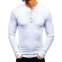 Patentos hosszú ujjú póló #145362 - fehér