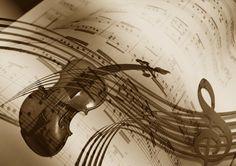 music violin treble clef sound