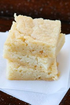 Dutch Butter Cake. Only 4 ingredients, and everyone always raves over it!! #recipe