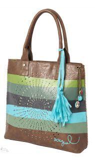 Desigual Bag BANDOLERA NEW TROKEL verde leñador