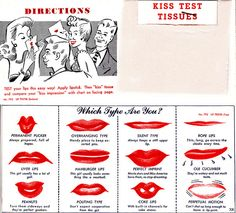 Which type are you? #vintage #1940s #makeup #lipstick