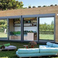 Konteyner Ev Modelleri ve Fiyatları Bureau Design, Scream Meme, Cargo Container Homes, Colored Hair Tips, Starter Home, Cozy House, Architecture, Outdoor Decor, Model