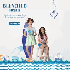 """""""Let the waves hit your feet, & the sand hit your seat."""" Try out these cool and happening SbuyS latest trends for your colorful Spring summer'16 . Shop for the latest trends at affordable prices @ http://www.sbuys.in #sbuys #kidswear #styledivas #latesttrends #fashionistas #newcollection #elegant #urbanstylewear #springseason #colors"""