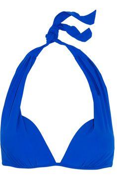 Heidi Klein - Lisbon Push-up Bikini Top - Bright blue - x small