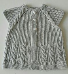 We have compiled 100 crochet baby vest pattern samples. See all of 40 crochet baby vest patterns. Browse lots of Free Crochet Patterns. Knitting For Kids, Baby Knitting Patterns, Knitting Designs, Baby Patterns, Free Knitting, Free Crochet, Knit Crochet, Crochet Patterns, Baby Cardigan