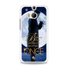 Once Upon a Time Captain Hook Believe HTC One M8 Case | yukitacase.com