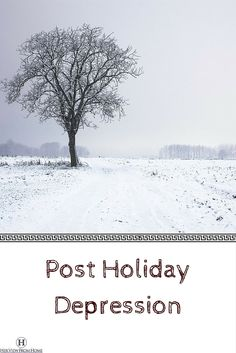 """#hvfh #blogger #byebyeChristmas """"...No, not flu season. This time it turns out that you have a case of Post Holiday Depression."""" Her View from Home blog post."""