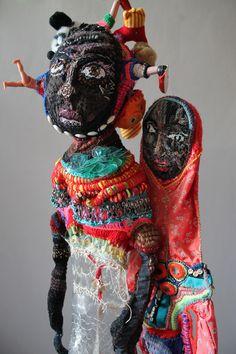 """Les transparentes """"6Secondes"""" et """"92"""" - Mona Luison- Art Fibres Textiles, Textile Fiber Art, Textile Artists, Sculpture Textile, Art Sculpture, Impression Textile, Art Beat, Art Premier, Photo Portrait"""