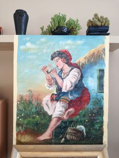 Elegant Gipsy Woman on the Field Vintage Fine Oil Painting by AnnaKhazalGoods on Etsy New Shop, Antique Shops, Good News, Art Pieces, Anna, Etsy Shop, Oil, Woman, Elegant