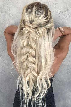 55 Creative Braid Hairstyles That are so Easy to Try #Women # #creativebraid #hairstylesthataresoeasytotry