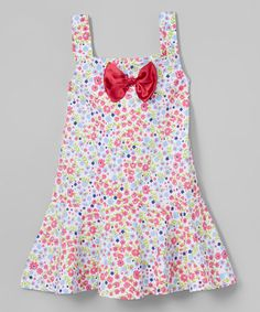 0c5f62be0 Look at this Raspberry Floral Sundress - Toddler & Girls on #zulily  today!