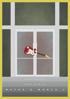 Wayne's World 2 - movie poster - Daniel Keane