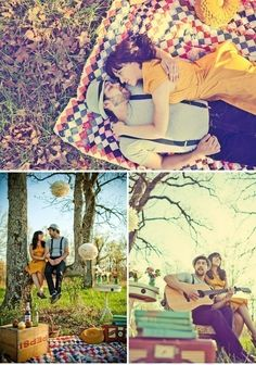 I would like to have a theme like this on my prenup shoot. :)
