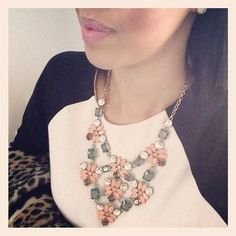 Floral Stone Statement Necklace | Fleurette Statement Necklace | Stella & Dot