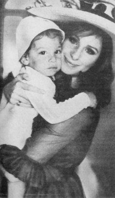 Barbra Streisand with her son, Jason