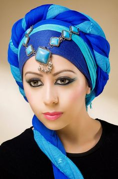 Unique Hijab Styles