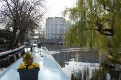 Jessie the #Narrowboat is als #hotel #appartement te boeken in #Londen voor €193,- per nacht bij slaapschepen.nl.