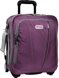 eBags TLS Vertical Mobile Office Eggplant - #ebags #travel #luggage #travel #accessories #inspiration #travelaccessories