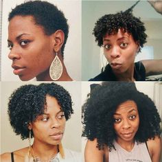 Or encourage your natural hair to get down with itself.