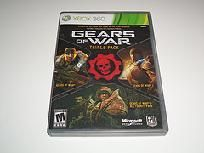 Gears of War Triple Pack Xbox 360 Game With Bonus Online Code~Ships FREE!