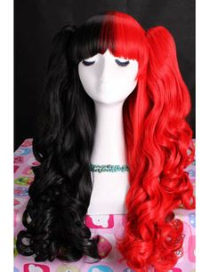 Lolita Black and Red Cosplay Wig