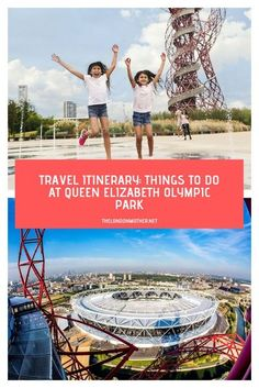 There's more to Stratford than the shopping centre so we've put together a Londoner's guide on the best things to do at the Olympic Park. #olympicpark #travelitinerary #London #stratford #travel London Aquatics Centre, London Wetland Centre, Toddler Travel, Travel With Kids, Family Travel, Family Vacations, Riverside Cafe, Trampoline Park, Stadium Tour