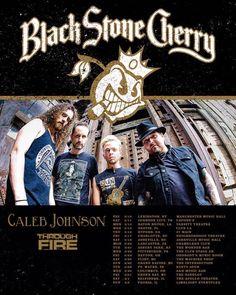 Black Stone Cherry announces Spring Tour Dates #BlackStoneCherry #ThroughFire #CalebJohnson #CitizenZero
