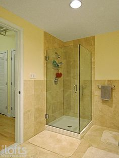 Simple shower stall. Love it.