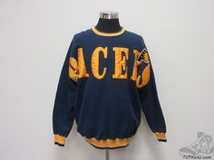 Vtg 90s Legends Indiana Pacers Crewneck Sweatshirt sz XL Extra Large NBA SEWN #Legends #IndianaPacers #tcpkickz