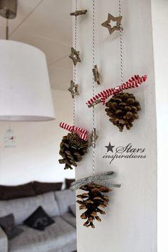 stars inspirations: TIME FOR KIDS - świąteczna ozdoba z szyszek