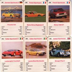 Top Trumps Rally Cars S S Toys Board Games Pinterest - Sports cars top trumps