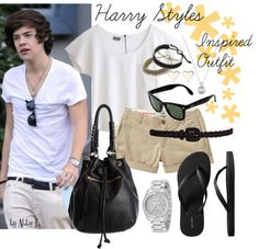 Harry Styles Inspired Outfit, created by abbytamase on Polyvore