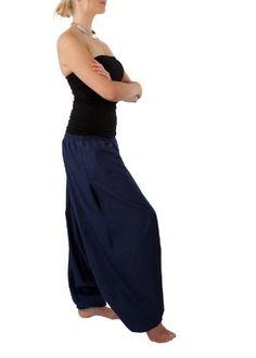 Cotton Maxi Harem Pants Romper Jumpsuit - http://cheune.com/a/23821788281202317