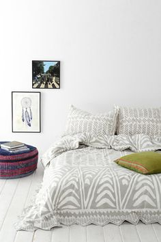 Magical Thinking Hand-Drawn Geo Duvet Cover. Possibly my favorite option for duvet cover