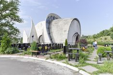 """Superstructure"": 11 Projects That Defined Kiev's Soviet Modernism,Halls of Farewell. Image © O.Burlaka 2014"