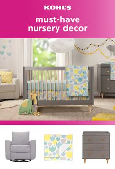 Special delivery! With baby on the way, putting together the perfect nursery can be a stressful task. Simple decor is an adorable way to welcome home your new arrival, leaving one less thing to worry about. Find cute accents to match, like pillows, lamps