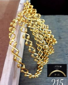Image may contain: jewelry Gold Bangles Design, Gold Earrings Designs, Necklace Designs, Jewelry Design, Fashion Necklace, Fashion Jewelry, Bead Embroidery Patterns, Designer Earrings, Gold Jewellery